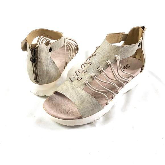 Jambu Shoes - Jambu Aruba Vegan Sandals Zipper Sz 8